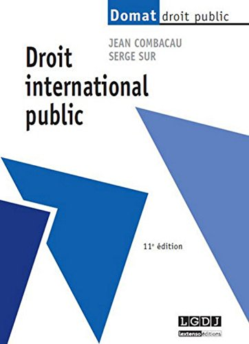 Droit international public, 11ème Ed