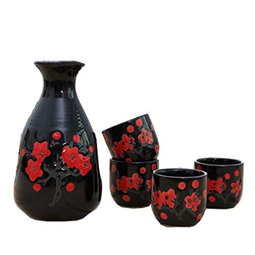 Fancy Pumpkin Creative Sake Reis Wein Krug Tassen Sets für japanische Restaurant, 05 -