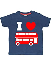 I LOVE BUSES' Children's T-Shirt Available In Various Colours