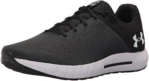 Under Armour Micro G Pursuit, Scarpe Running Uomo, Nero (Anthracite 102/Black), 42.5 EU
