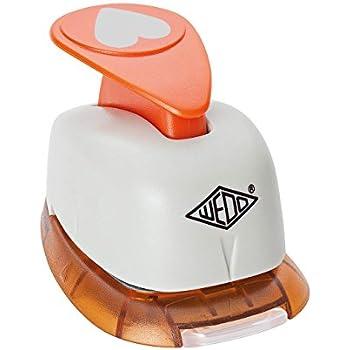 RAYHER Hobby 8961400 Motivstanzer rundkreis orange