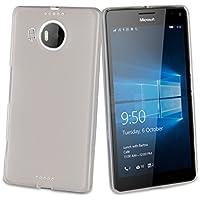 Muvit MUSKI0616 - Funda para Microsoft Lumia 950 XL, transparente