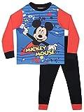 Disney Pigiama a Maniche Lunghe per Ragazzi Topolino 18-24 Mesi