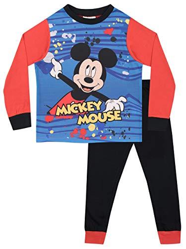 Disney Pijamas Manga Larga niños Mickey Mouse 2-3