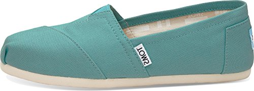 TOMS Canvas Slipper Espadrilles Damen - 7 (Canvas Toms Schuhe)