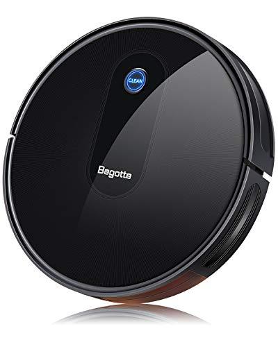 Bagotte BG600 Robot Aspirapolvere, Aspirapolvere Robot 1500Pa...