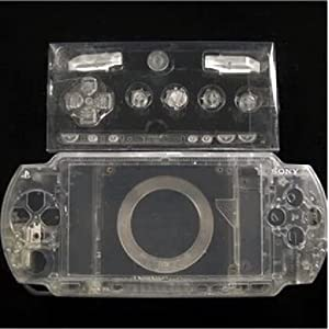 Laixing Gute Qualität Clear Crystal Housing Faceplate Case Cover fur PlayStation Portable PSP1000