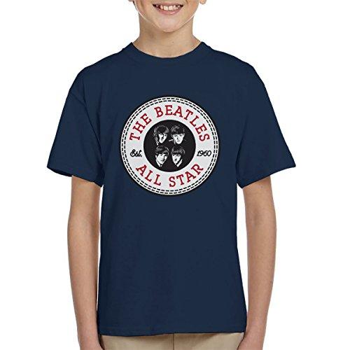 The Beatles All Star Converse Logo Kid's T-Shirt