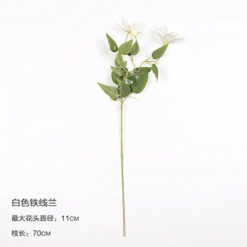 JIALE3536 Gefälschte Blumen,Kunstblumen,Unechte Blumen Hortensie Blume Anemone Blumen, Ein
