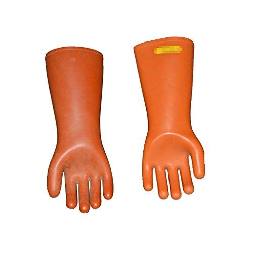 CHEN 12KV Isolierte Handschuhe, Elektrischer Hochspannungsschutz Mit Gummihandschuhen