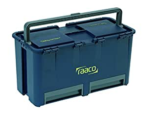 raaco 136587 Compact 27 Boîte à outils, Bleu/gris