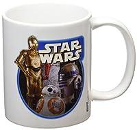 Tazza bianca di Star Wars con stampa Episode VII Droids.