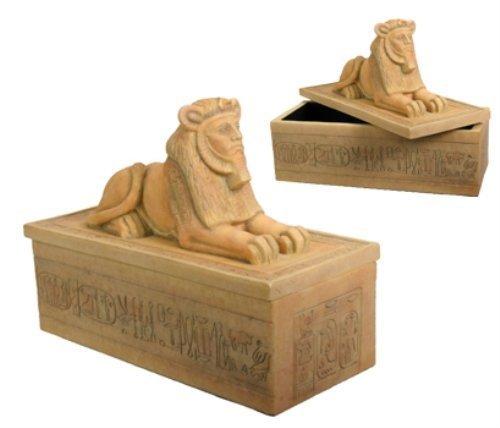 StealStreet Ägyptische RAM Box Collectible Jewelry Container Figur Modell -