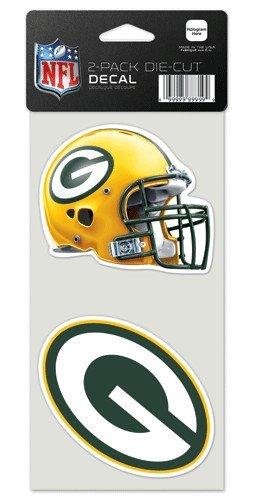 NFL Set von 2Diamant Aufkleber, Green Bay Packers