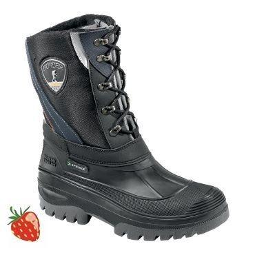 Winter-stivali anti-abrasivo-rivestimento, in N, scarpa dimensioni: 41, colore: Nero