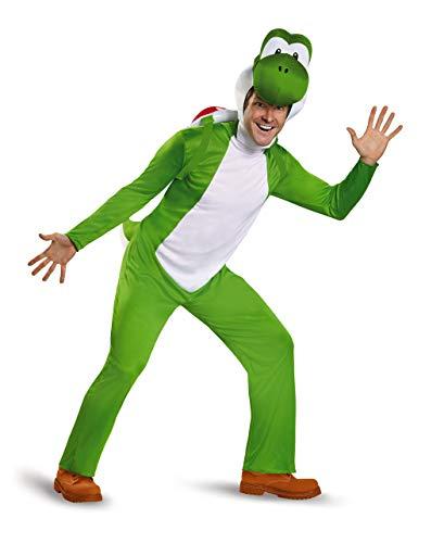Super Mario Bros DIS85170C Kostüm, Herren, Yoshi, XX-Groß