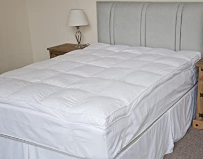 Luxury Extra Thick Duck Feather Mattress Topper