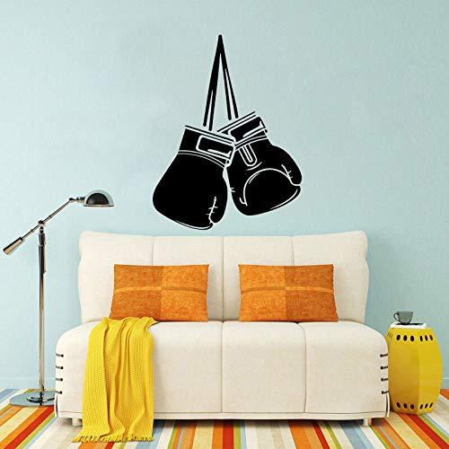 48 cm * 62.8 cm guante de boxeo más fresco decoración hogar y gimnasio etiqueta de la pared sala de estar el dormitorio PVC