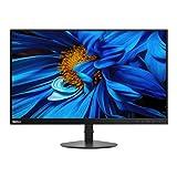 Lenovo ThinkVision S24e Monitor, Display 23,8' Full HD, Risoluzione 1920x1080, Formato 16:9, 4ms, HDMI+VGA, Contrasto 3000:1, Black