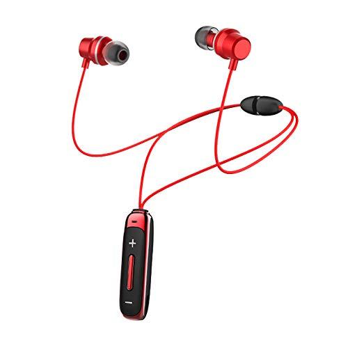 H&T Bluetooth-Kopfhörer, wasserdichte kabellose magnetische Stereo-In-Ear-Ohrhörer, rauschunterdrückende kabellose Sport-Kopfhörer für iPhone/iPad/Samsung/Huawei,A