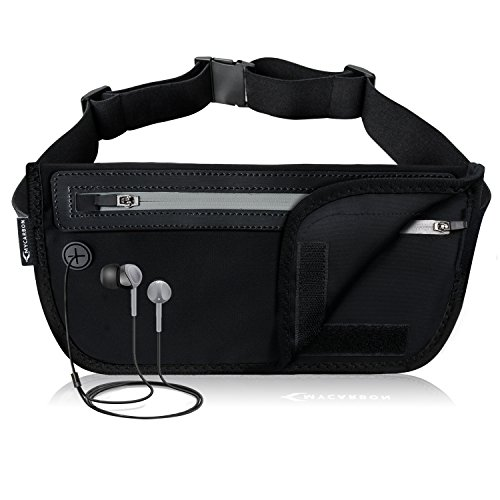41GvUSqWjCL. SS500  - MYCARBON Travel Money Belt RFID Against Invisible Theft Secret Wallet Hidden Under Clothes Belt Wallet Security Travel Pouch