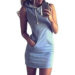 Lounayy Vestidos Con Capucha Mujer Elegantes Hoody Casual Cómodo Sudaderas Con Capucha Camicia Invierno Vestidos Tops Colores Sólidos Tendencia Streetwear Swag Vestidos De Camisa Vestidos Camiseros El