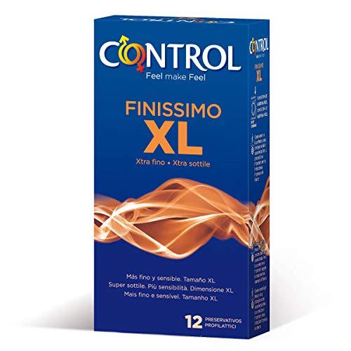 Control Finissimo XL Preservativos - Pack 12 preservativos