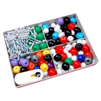 EQLEF® Modello molecolare Set - Chimica Organica ed Inorganica / viene fornito con una custodia in plastica robusta per la conservazione