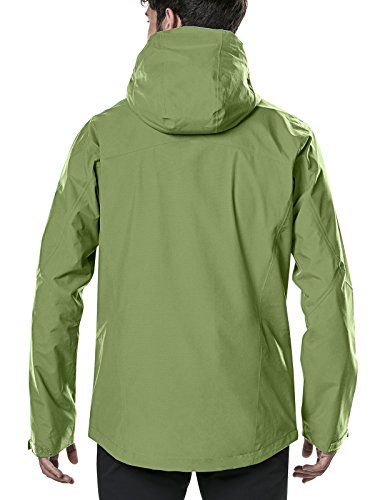 Berghaus Waterproof Ridgemaster Men's Outdoor Hooded Jacket - view from back