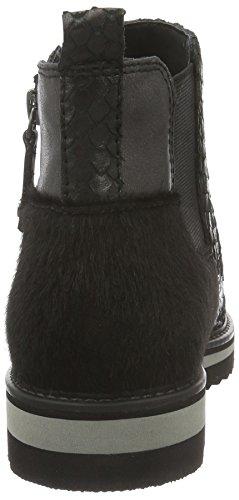 Be Natural 25406, Bottes Chelsea Femme Noir (Black 001)