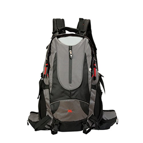 Outdoor Großer Captour Walking Camping Rucksack,Orange Gray