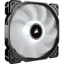 Corsair AF140 Air Series, 140 mm LED Low Noise Cooling Fan - White (Single Pack)