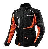 dududrz Motorradjacke Herren Damen Schutzausrüstung wasserdichte Motorrad Jacke Komfortable...