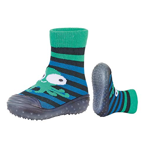 Sterntaler Jungen Adventure-Socks Qualle Aqua Schuhe, Blau (Marine 300), 20 EU