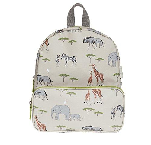 Sophie Allport tela impermeable mochila–diseño de Safari