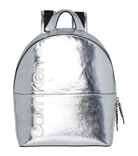 Calvin Klein Dual Backpack Metallic Silver
