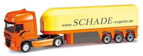 herpa 1/87 DAF XF 105 SSC glass transport semi-trailer \