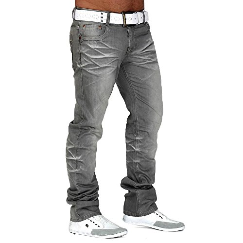 uomo-jeans-slim-fit-greyhound-id670-gamba-grosse-hosenw32