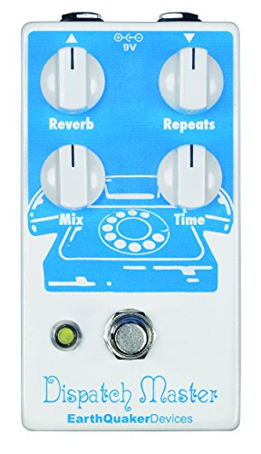 EarthQuaker Devices Dispatch Master V2 · Pedal guitarra eléctrica