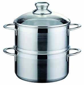 Gsw 815208 mirage bio cuiseur vapeur 20 cm cuisine maison - Cuiseur vapeur industriel ...