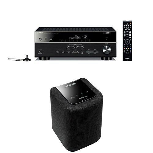 Yamaha MusicCast RX-V481 DAB Black + WX010 Black
