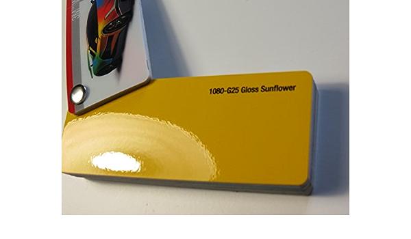 3m 25 73 M2 Scotchprint Wrap Film Series 1080 Glanz Sunflower Gelb Gegossene Autofolie 2000 X 152 Cm Zuschnitt Auto