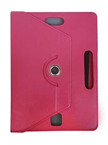 Fastway 360 Degree Rotating Tablet Book Cover For Milagrow PiPo TabTop M8 PRO (3G+16GB)-Pink  available at amazon for Rs.439