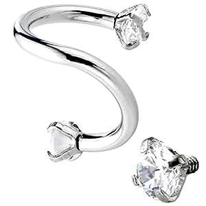 piercingj anneau piercing barbell cristal arcade boucle d 39 oreille cartilage levre nez soucril. Black Bedroom Furniture Sets. Home Design Ideas