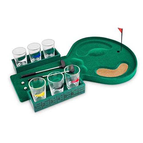 Party Game Kit, lustiges Bürospiel Spielzeug Set Party Geschenk Tisch Spiel gehören Desktop Golf/Dart Game Set/Spinning Spiele/Beer Pong Spiel -