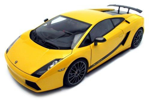 Autoart - 74584 - Véhicule Miniature - Lamborghini Gallardo Superleggera - Jaune - Echelle 1/18