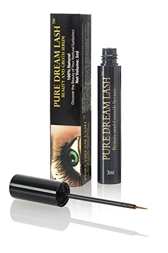 Pure Dream Lash - Wimpernserum für Wimpernwachstum Augenbrauen Booster - 100% Hormonfrei - Wimpernserum & Augenbrauenserum | Für schnelles Wimpernwachstum | 3 ml