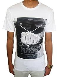 Eleven Paris - T-shirt - Homme blanc blanc