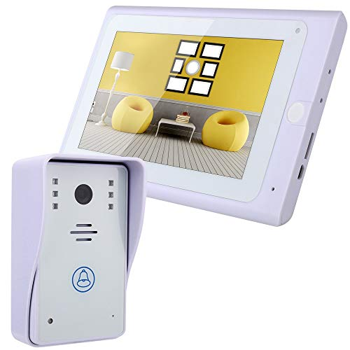 LIBO Wifi Videoportero Timbre Puerta IP Cámara 7inch