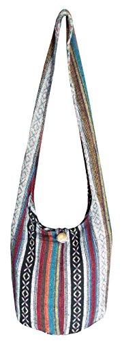 Hippie Pattern Sling Bag